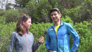 Sage Canaday, 2017 Lake Sonoma 50 Mile Champion, Interview