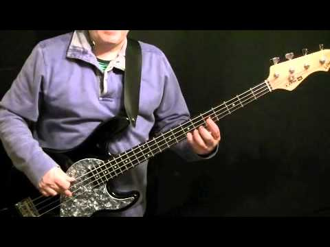 How To Play Bass Guitar To Stepping Out by Joe...