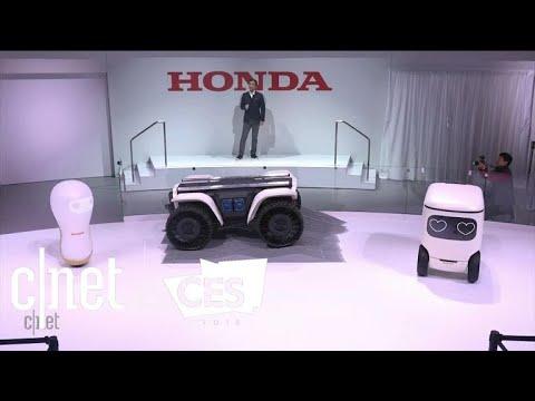 Honda debuts 3E concept robots at CES 2018
