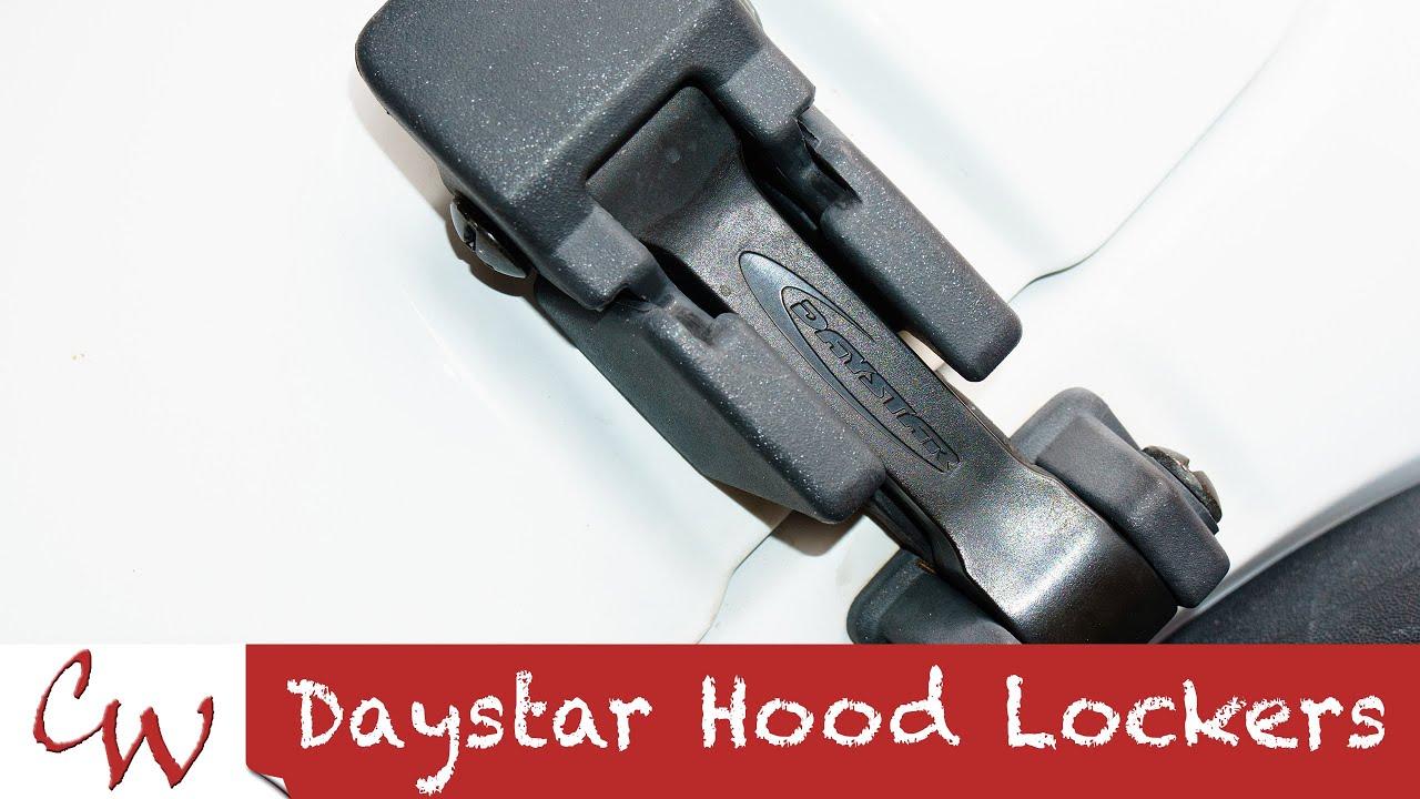 Daystar Hood Latch Jeep Wrangler Youtube
