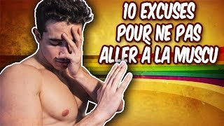 10 EXCUSES POUR NE PAS ALLER À LA MUSCU !