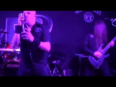 """Synaptik """"A Man Dies"""" Live 31 1 2014 B2, Norwich UK Melodic metal"""