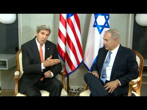PM Netanyahu Meets US Secretary of State John Kerry