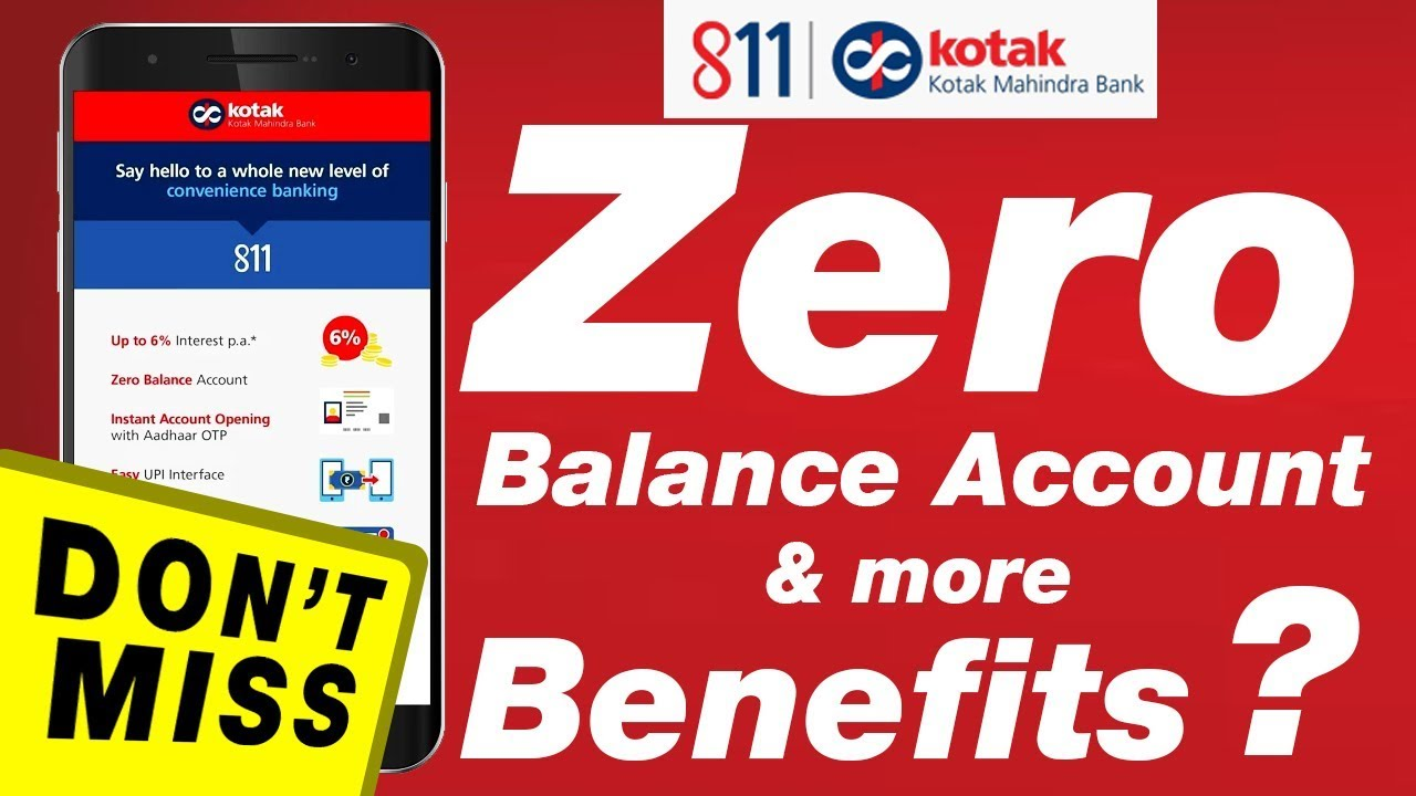 How To Open Kotak 811 Account In Just 5 Minute Hindi Youtube