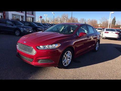 2016 Ford Fusion Denver, Aurora, Lakewood, Littleton, Fort Collins, CO 3581MP