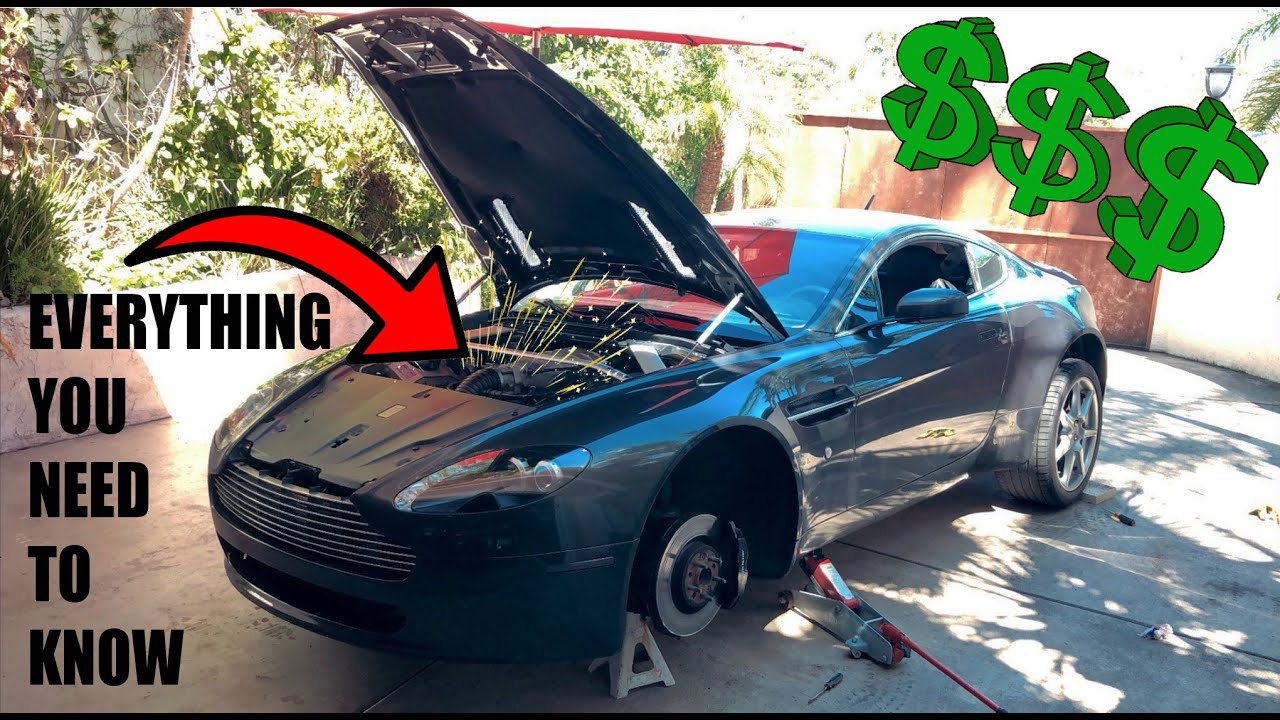 5 Things That Will Go Wrong With Your Dream Depreciated Aston Martin Vantage Youtube