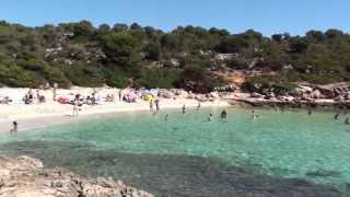 video cala varques майорка испания пальма де майорка(http://mallorcarusskaya.ru Этот очень чистый и живописный пляж с мелким белоснежным песком защищен от ветров и волн,..., 2014-02-06T15:31:51.000Z)