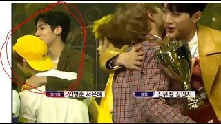 Gambar cover Interaction Yeonjun TXT Friendship with Wooseok Pentagon 190313 Show Champion