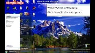 Jak zainstalować pasek górny systemu windows (RocketDock)