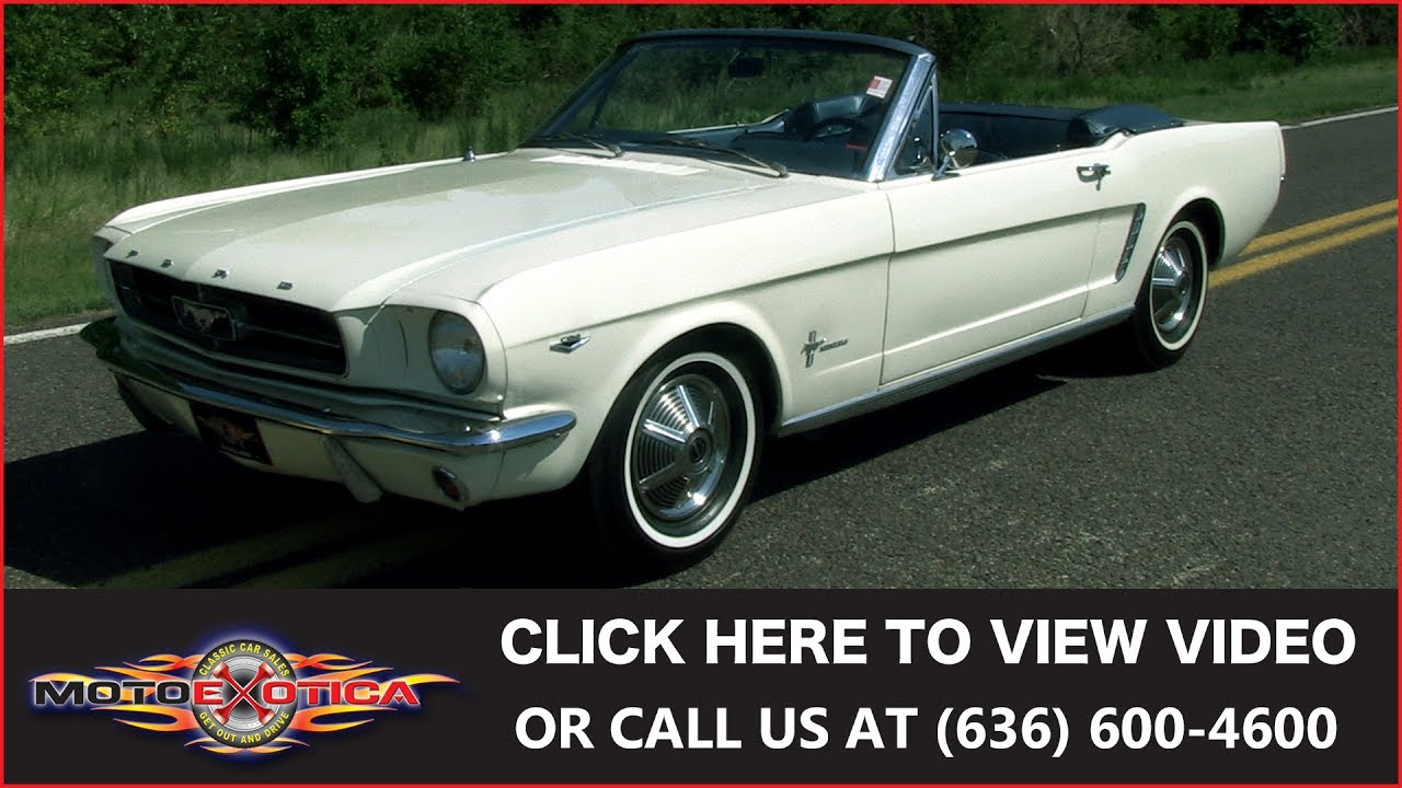1964 1 2 ford mustang convertible for sale