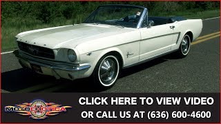 1964 1/2 Ford Mustang Convertible || For Sale