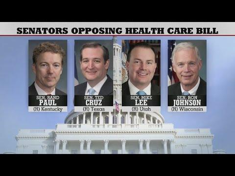 Download Youtube: 4 GOP Senators Shun Obamacare Replacement
