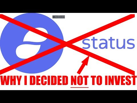 Why NOT To Invest in Status (SNT)