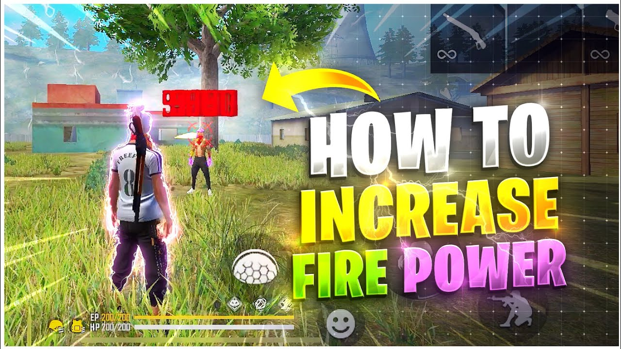 How To Increase Fire Power In Free Fire 🔥  Secret Tricks   How To Improve Your Gameplay Like Nobru 👽