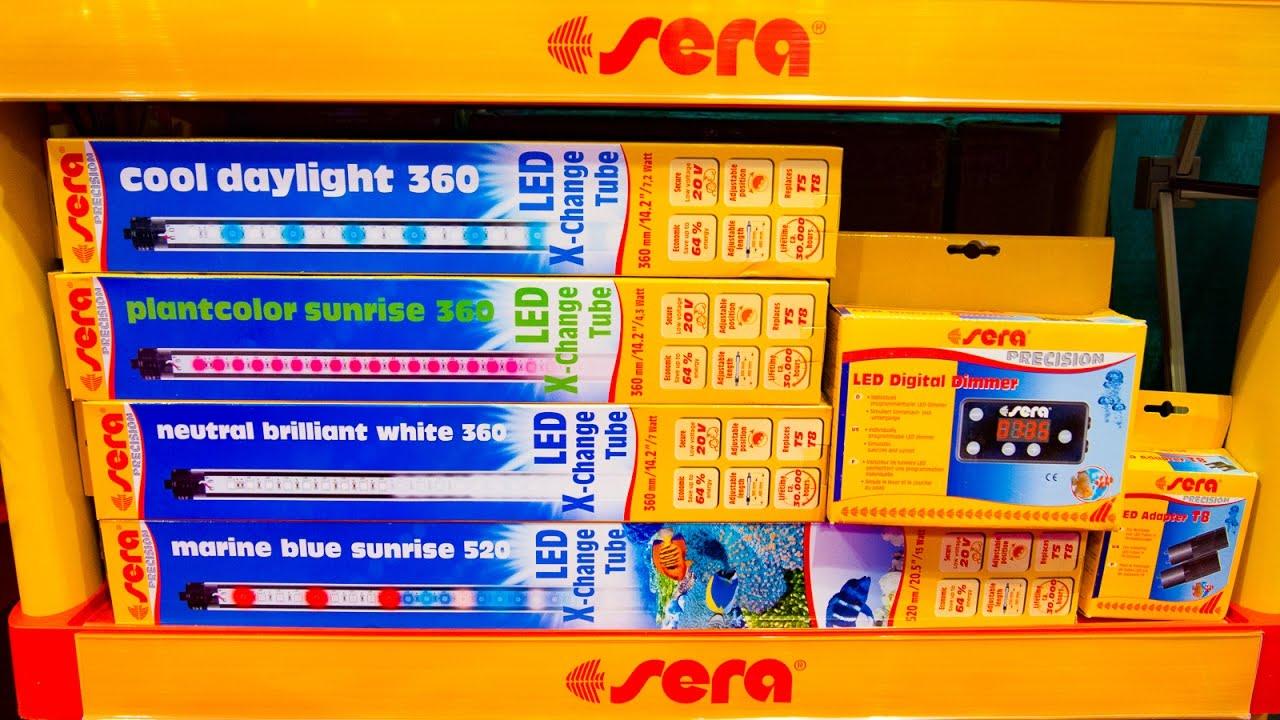 New Led Lights From Sera Youtube