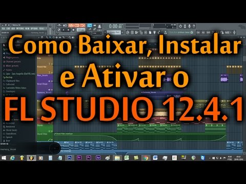 Como Baixar, Instalar e Ativar o FL Studio 12.4.1 [Original/Sem Crack]