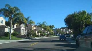 A Drive Through the Santa Fe Hills Neighborhood in San Marcos, CA