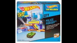 2014 Hot Wheels city Police Pursuit review