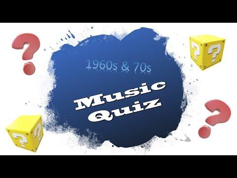 60s 70s Music Quiz