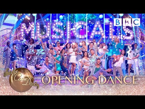 Strictly pros, celebrities & judges perform 'Mamma Mia Megamix' from Mamma Mia - BBC Strictly 2018
