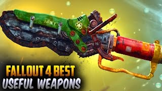 Fallout 4 Rare Weapons - TOP 10 Unique, Secret Best Melee Weapons