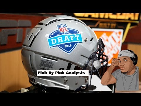 2019 NFL Draft Day 1 Analysis & Reaction Show    Pre & Post Show   