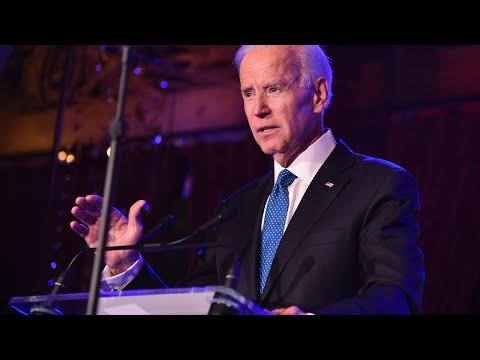 Biden delivers remarks at N.Y. Democratic convention