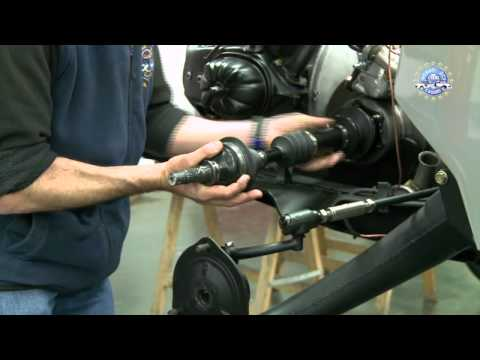 How to replace an inner and outer driveshaft