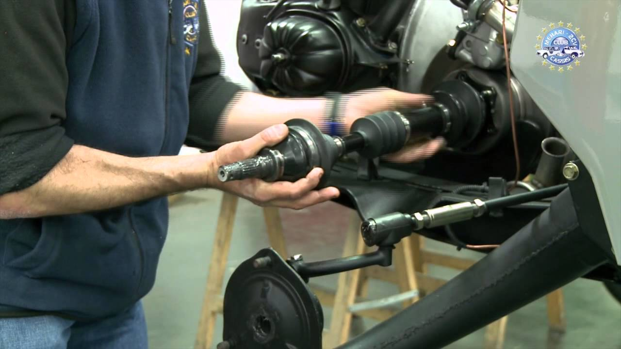 How To Replace An Inner And Outer Driveshaft Youtube