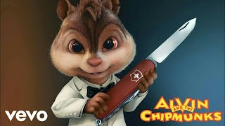 Maroon 5 - Girls Like You ft. Cardi B (Lyrics Video) | Chipmunks Version