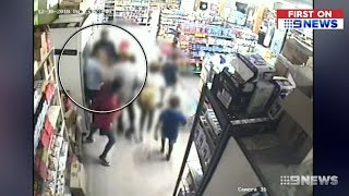 Aboriginal Family Rampage IGA. Shop Owner Seriously Charged.(WA)  Nine News