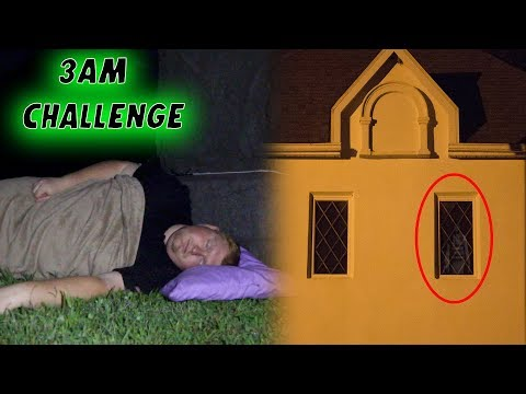 WE RECORDED US SLEEPING IN A RUSSIAN WAR CEMETERY *STUPID DECISION* 3AM CHALLENGE