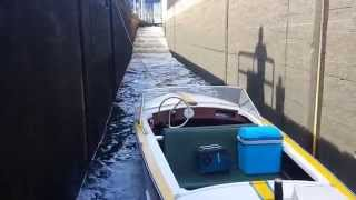 Sportbootschleuse Main - wie funktioniert diese?