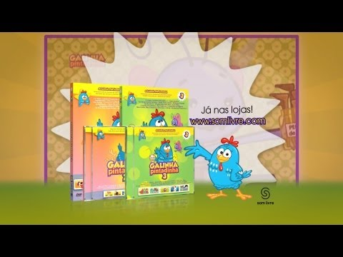"""Comercial Som Livre - """" e DVD Galinha Pintadinha 2 e 3"""""""