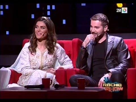Manar et Mahmoud de Samhini   Rachid Show  رشيد شو : منار و محمود   حلقة كاملة