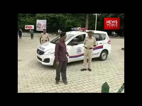 Bangalore Metro Staff And Police Clash