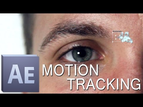 After Effects Basic Motion Tracking Tutorial