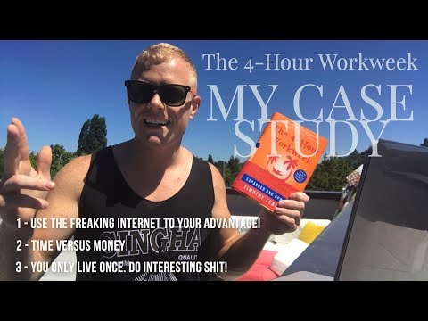 THE 4-HOUR WORKWEEK by Tim Ferriss – My Summary, Review & Case Study / Digital Nomad Success Story