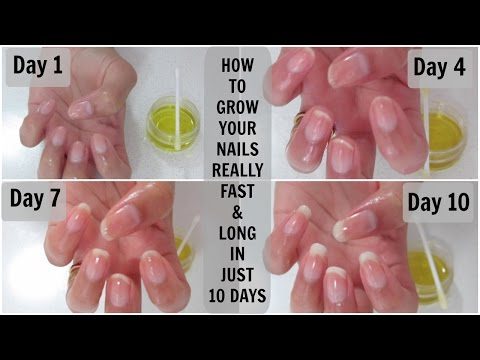How to grow your nails really fast and long in just 10 days | Mamtha Nair