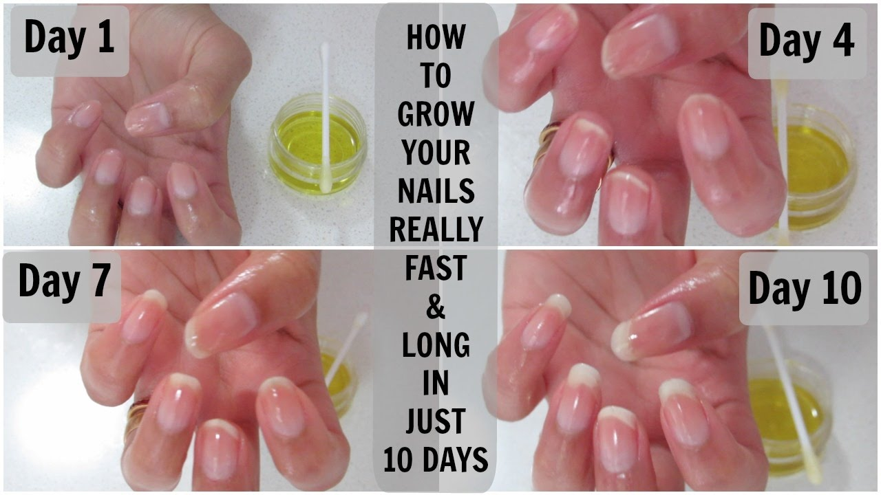 How does the nail grow