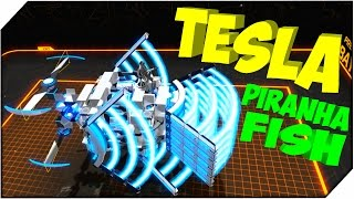 ROBOCRAFT TESLA ➤ Piranha Fish (Tesla)