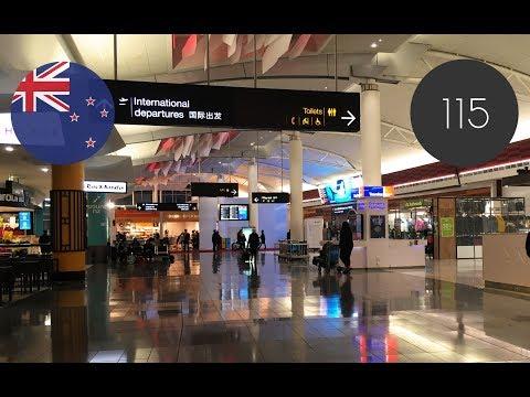 NZ[115] Auckland International Airport Departure 2017/05/15
