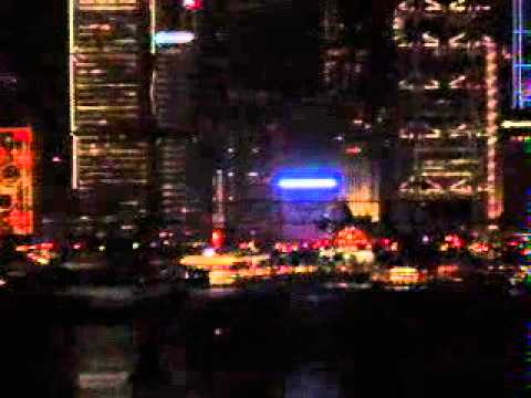 Justin tv   Hong Kong   Symphony of light   zoomed