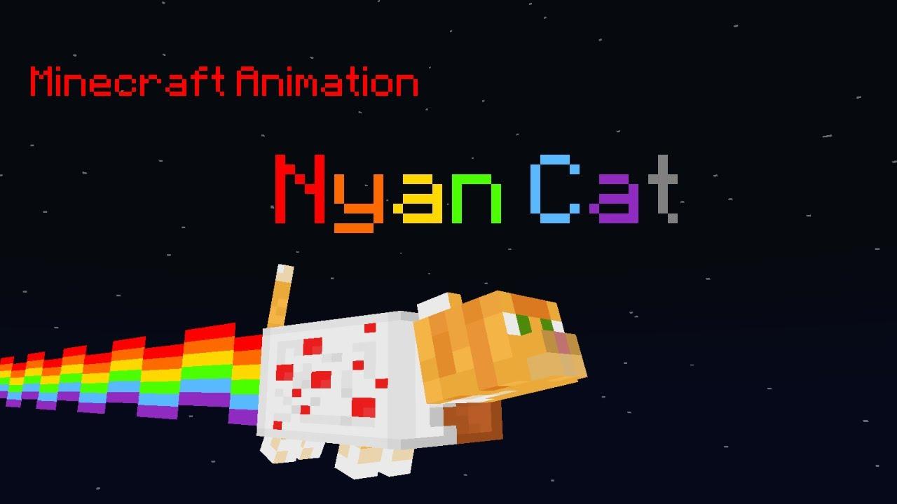 Minecraft Short Animation Nyan Cat Youtube