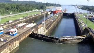 Panama Canal - PCL Coral Princess 28Oct15