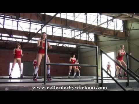 Roller Derby Workout - Official DVD Trailer
