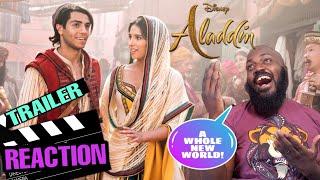 Aladdin Official Trailer Reaction!