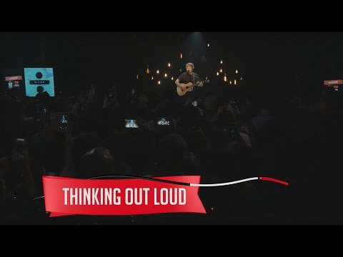 Thumbnail: Ed Sheeran - Thinking Out Loud (Live on the Honda Stage at the iHeartRadio Theater NY)