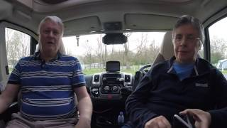 Arriving at Woodland Gardens Caravan Park  - Easter 2017 Trip - Day 3
