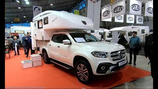 Mercedes Benz X-class Pick up Power Edition Camper Wanner Silverdream Mono 4x4